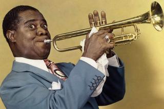 Louis Armstrong, Jazz History - Obrázkek zdarma pro Samsung Galaxy Tab 3 8.0