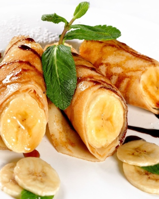 Sweet banana dish - Obrázkek zdarma pro Nokia 5800 XpressMusic