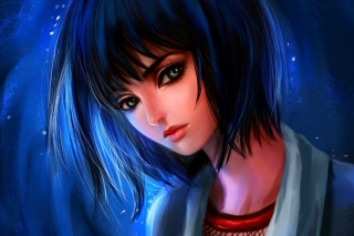Fantasy Girl Background for Android, iPhone and iPad