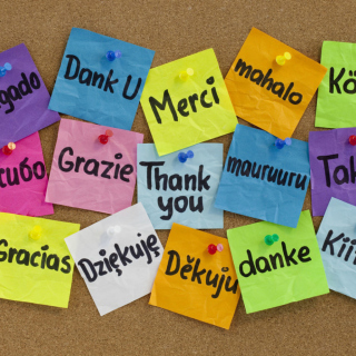 How To Say Thank You in Different Languages - Obrázkek zdarma pro iPad Air