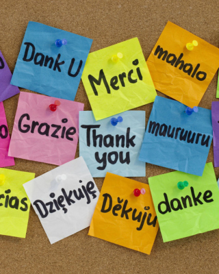 How To Say Thank You in Different Languages - Obrázkek zdarma pro Nokia 300 Asha