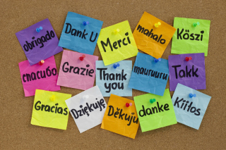 How To Say Thank You in Different Languages - Obrázkek zdarma pro LG P500 Optimus One
