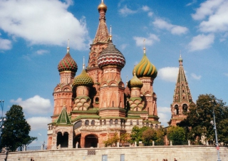 St. Basil's Cathedral On Red Square, Moscow - Obrázkek zdarma pro Widescreen Desktop PC 1920x1080 Full HD