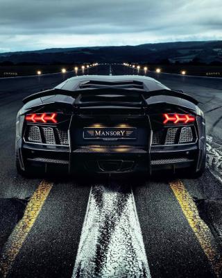 Lamborghini Aventador Mansory - Obrázkek zdarma pro 480x640