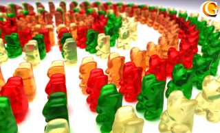 Gummy Bears Wallpaper for Android, iPhone and iPad