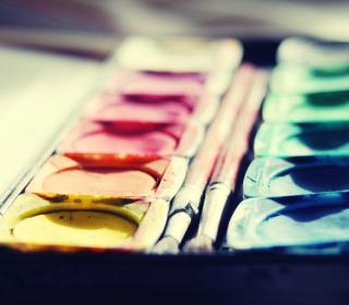 Colorful Paints - Obrázkek zdarma pro iPad 3