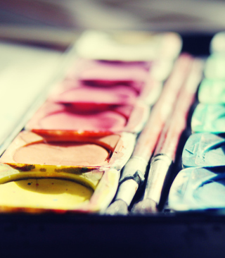 Colorful Paints - Obrázkek zdarma pro Nokia Asha 300