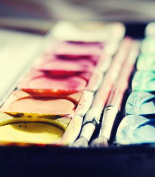 Colorful Paints - Obrázkek zdarma pro iPhone 3G