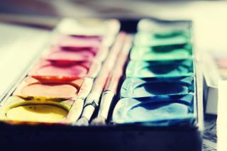 Colorful Paints - Obrázkek zdarma pro 220x176