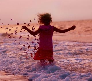 Sea Butterflies - Obrázkek zdarma pro 208x208