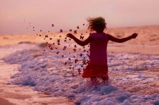 Sea Butterflies - Obrázkek zdarma pro 480x360