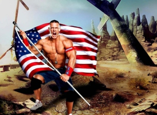 John Cena - Obrázkek zdarma pro 800x480