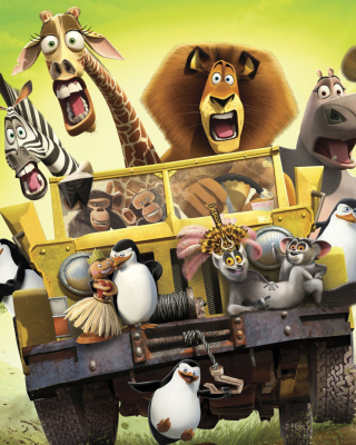 Madagascar - Obrázkek zdarma pro Nokia 206 Asha