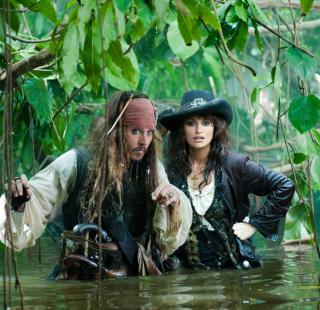 Pirates Of Caribbean - Obrázkek zdarma pro iPad