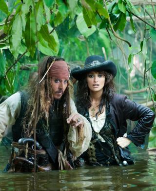 Pirates Of Caribbean - Obrázkek zdarma pro Nokia C1-02
