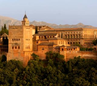 Alhambra of Granada - Obrázkek zdarma pro 1024x1024