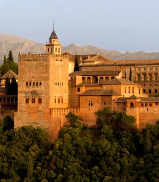 Alhambra of Granada - Obrázkek zdarma pro Nokia X1-00