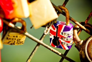 British Lock - Obrázkek zdarma pro HTC One X