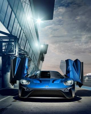 2017 Ford GT - Obrázkek zdarma pro Nokia C-5 5MP