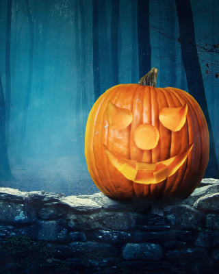Pumpkin for Halloween - Obrázkek zdarma pro Nokia Lumia 620