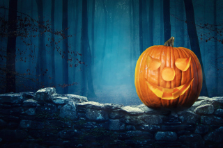 Pumpkin for Halloween - Obrázkek zdarma pro Widescreen Desktop PC 1920x1080 Full HD