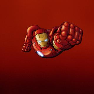 Iron Man Marvel Comics - Obrázkek zdarma pro iPad 3