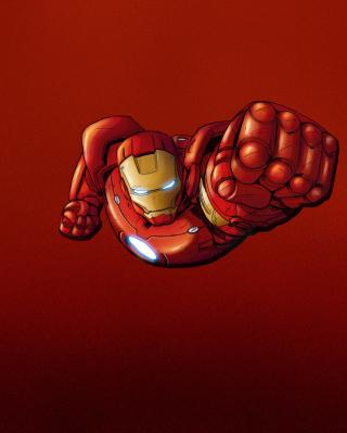 Iron Man Marvel Comics - Obrázkek zdarma pro Nokia C6-01