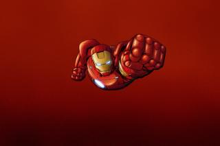 Iron Man Marvel Comics - Obrázkek zdarma pro Nokia Asha 302