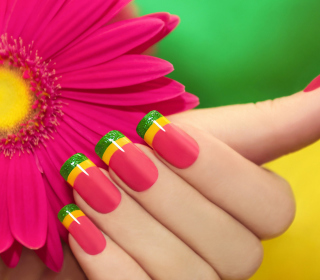 Colorful Nails - Obrázkek zdarma pro 208x208