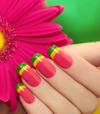 Colorful Nails - Obrázkek zdarma pro Nokia Asha 300