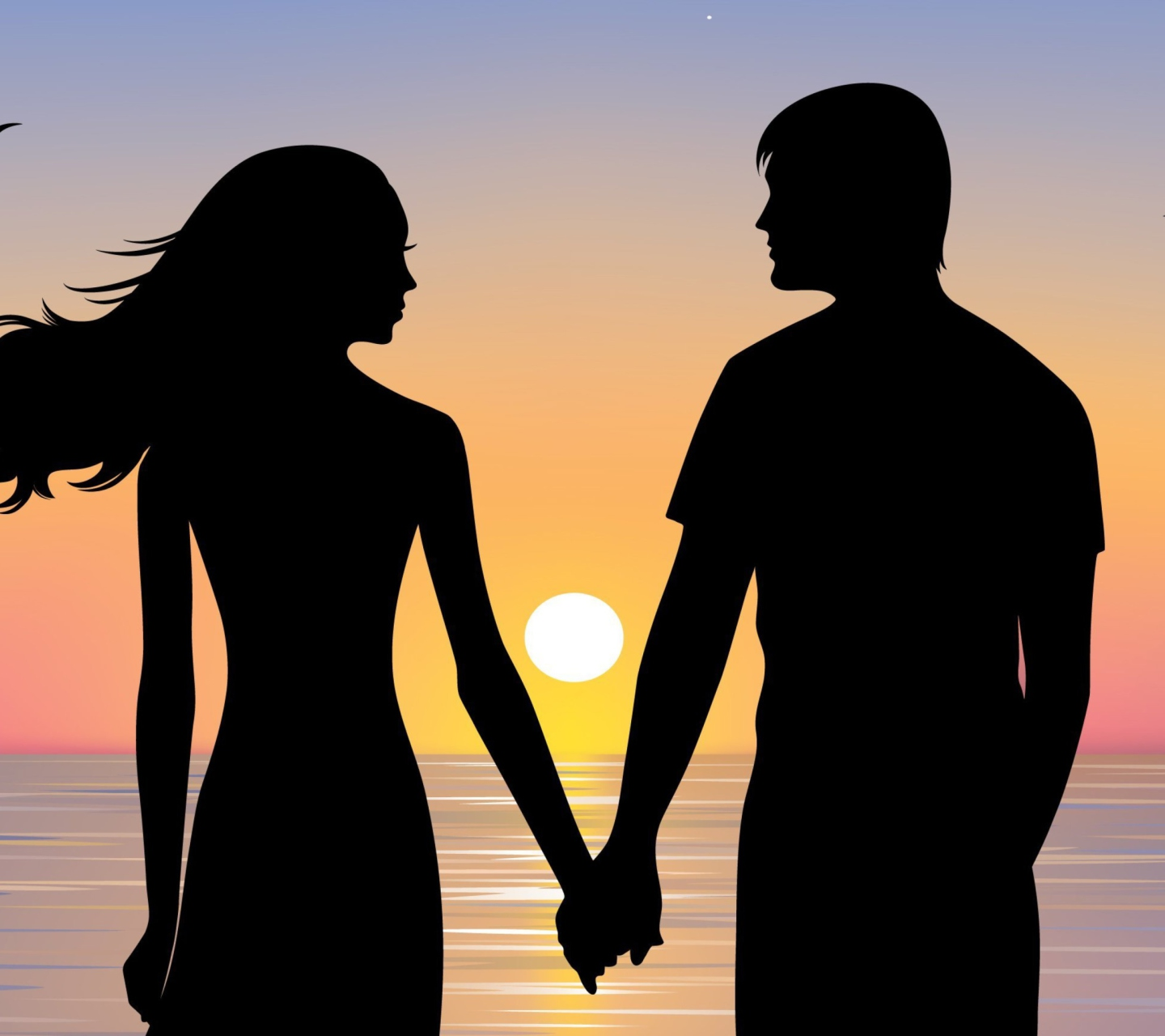 romantic silhouette wallpapers - photo #35