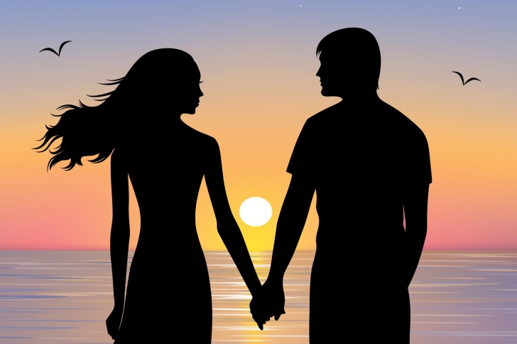 romantic silhouette wallpapers - photo #16