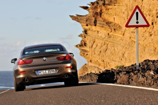 BMW 6 Series Gran Coupe Background for Android, iPhone and iPad
