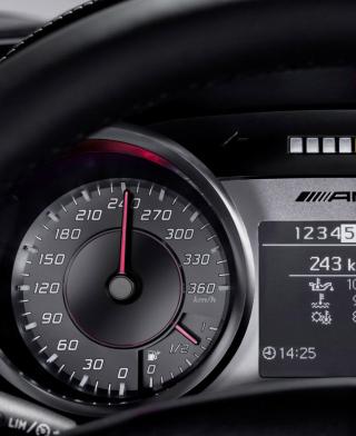 Mercedes AMG Speedometer - Obrázkek zdarma pro 240x320