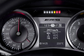 Mercedes AMG Speedometer Wallpaper for Android, iPhone and iPad
