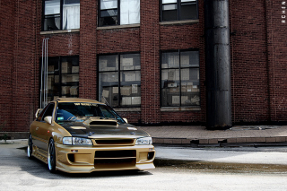 Subaru Legacy Tuning Background for Android, iPhone and iPad