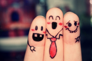 Lovely Fingers Wallpaper for Android, iPhone and iPad