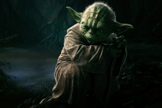 Free Jedi Master Yoda Picture for Android, iPhone and iPad