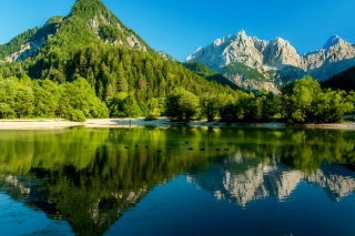 Free Lake Jasna, Slovenia Picture for Android, iPhone and iPad