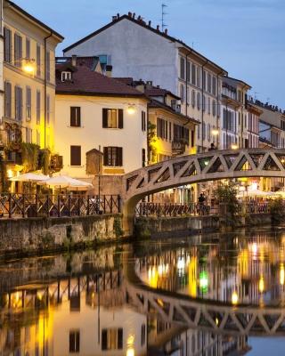 Milan Canal Navigli District - Obrázkek zdarma pro Nokia X1-00