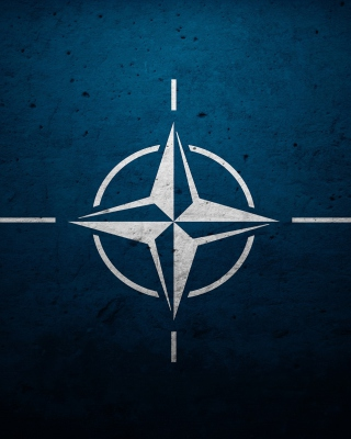 Flag of NATO - Obrázkek zdarma pro 768x1280