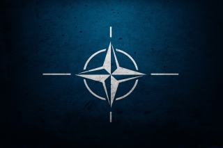 Flag of NATO - Obrázkek zdarma pro Fullscreen Desktop 1400x1050