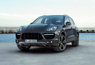 Porsche Cayenne Turbo Wallpaper for Android, iPhone and iPad