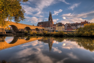 Regensburg Background for Android, iPhone and iPad