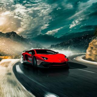 2016 Lamborghini Aventador SV LP750 4 - Obrázkek zdarma pro 1024x1024