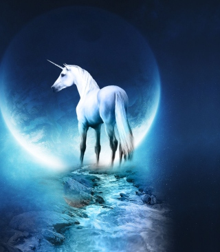 Last Unicorn - Obrázkek zdarma pro 768x1280