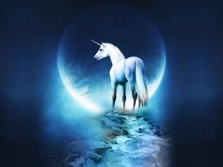 Last Unicorn - Obrázkek zdarma pro Samsung Galaxy Tab 3 8.0