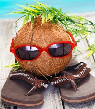 Funny Coconut - Obrázkek zdarma pro Nokia X1-01
