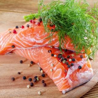 Salmon Dish - Obrázkek zdarma pro iPad mini 2