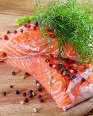 Salmon Dish - Obrázkek zdarma pro Nokia 206 Asha